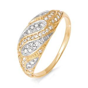 Кольцо с круглыми бриллиантами